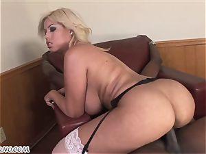 Bridgette B - My fresh Latina assistant in stocking