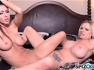 Briana Banks and Jessica Jaymes live web webcam showcase
