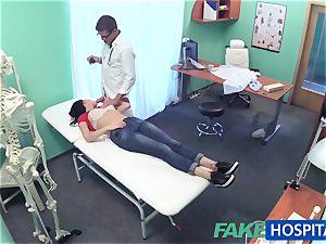 FakeHospital fantastic Russian Patient needs humungous hard penis