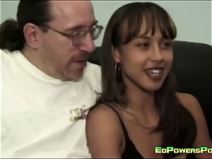 Ed Powers romps the donk of a sweetie
