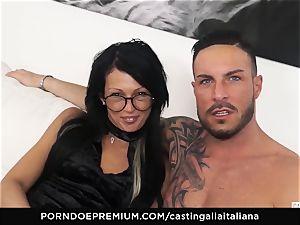 casting ALLA ITALIANA - kinky intercourse with local inexperienced