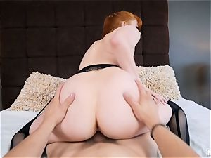 lil' red head Penny Pax gets what she wants