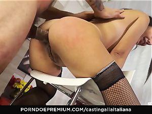 casting ALLA ITALIANA - Italian mummy newcummer luvs anal