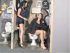 Glory fuck-hole in the men's apartment for milf joy buttons Jade and her daughter