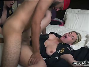 ebony dark-hued wife mummy Noise Complaints make filthy superslut cops like me raw for massive dark-hued