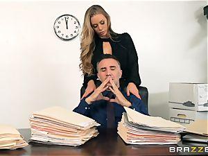 secretary Nicole Aniston pulverized in the pussyhole