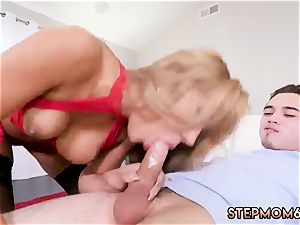 No forearms blow-job xxx super-hot mummy nailed Delivery dude