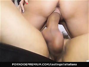 casting ALLA ITALIANA - new-comer anal invasion gape and plumb