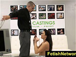 FetishNetwork Desirae Rose mouth torn up