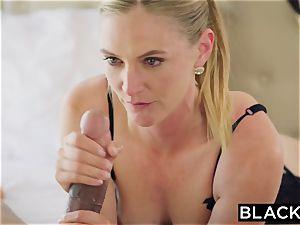 BLACKED scorching wifey cuckolds hubby with ebony neighbor