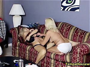 Ms Paris Rose in two super-naughty dolls with toys