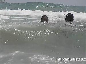 naturist beach spycam preys on naked hotties