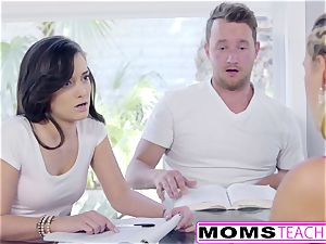 red-hot Step-Mom Cherie Deville seduces daughters-in-law beau