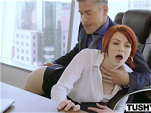 TUSHY Bree Daniels first rectal fuck-a-thon sequence