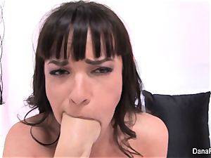 Dana gets her backside banged by Owen's phat sausage