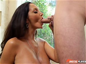horny brunette Ava Addams has her sumptuous vag battered into