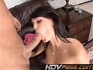 Alison Tyler gargling And Getting fucked