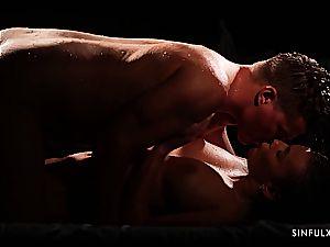 Romantic and wet episode with an absolute goddess Vanessa Decker