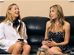 Carter Cruise and Blair Williams enjoy each others red-hot cooters