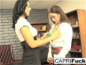 Capri Cavanni and Zoey Holloway tear up