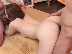 Doremi Miyamoto spunky fucky-fucky With two grizzlies