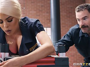 Luna starlet taking it rigid in her smoothly-shaven cunny