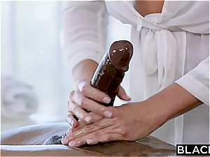 Fit fuck-stick for obscene Samantha Saint and her taut honeypot