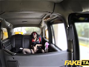 fake cab doll in mask gets romped in the culo