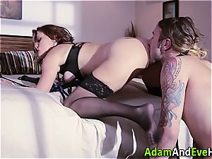 Krissy Lynn dominates her accomplice