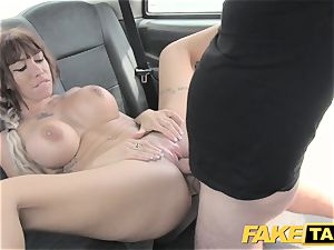 faux taxi Spanish mammories and english hefty sausage