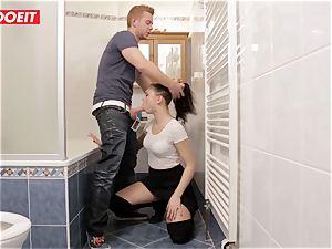 LETSDOEIT - torrid teenage Gets disciplined For peeing Outside