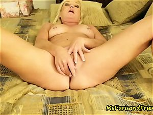 buttfuck fucktoy orgasms with Ms Paris Rose