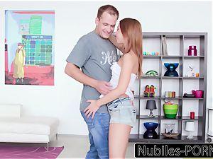 Nubiles-Porn Russian redhead Seduced By schoolteacher