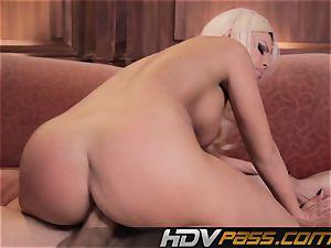 wild cockslut Britney Amber Gets gonzo And jizz shot