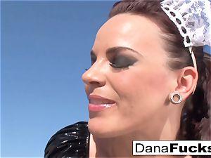 Dana the maid in a super-fucking-hot intercourse