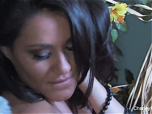 buxom Charley pursue is insane for the harvest