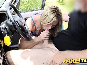 fake cab Mum with innate hooters gets huge british dick