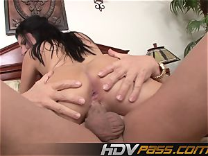 HDVPass Sativa Rose gets muff torn up with a vengeance
