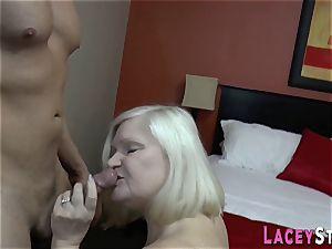 granny deep throats n pounds