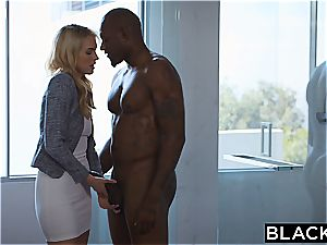 BLACKED Keira Nicole Takes Her first enormous black manhood