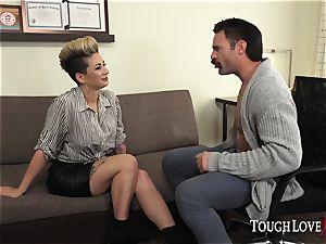 TOUGHLOVEX Della Dane makes a visit to medic Karl