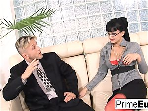 Aletta Ocean gets rectally boinked on the bed