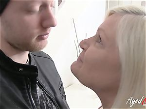 AgedLovE Lacey Starr entices hardcore hook-up lover