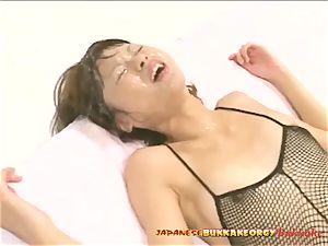 anal Creampies - japanese bukkake fuck-fest
