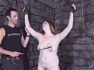 shackled nubile whipped