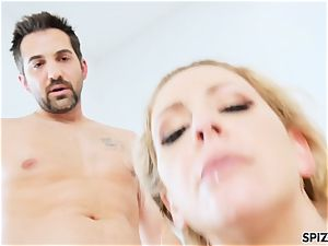 Spizoo - Step mommy Cherie Deville gets plowed