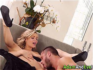 gorgeous couple Mia Malkova and Danny Mountain ravaging