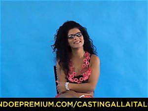 audition ALLA ITALIANA - Romanian nymphomaniac booty drilled
