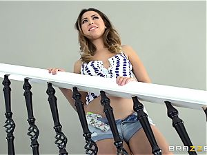 Melissa Moore gets sizzling and sloppy with the removal fellow