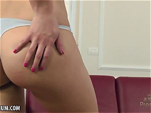 Rose ebony fingers herself to a excellent conclude